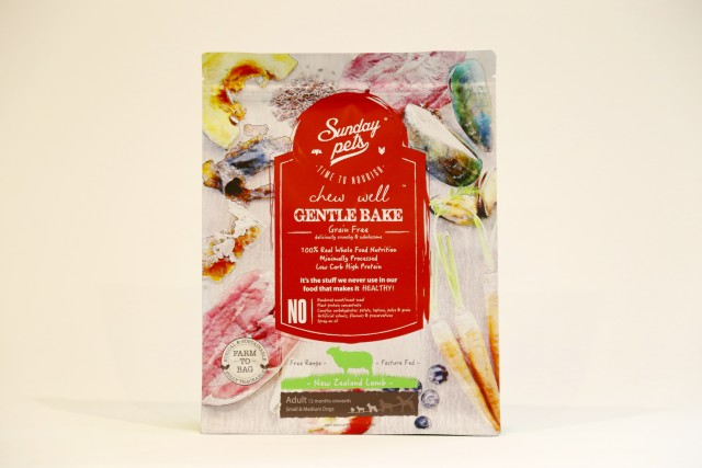 SUNDAY Gentle Bake LAMB Adult S/M 1,5kg