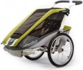 THULE CHARIOT COUGAR 1 2014 AVOCADO + bike set