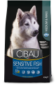 Cibau dog Sensitive Fish MEDIUM & MAXI 2 x 12 kg