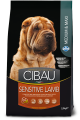 Cibau dog Sensitive Lamb MEDIUM & MAXI 2 x 12 kg